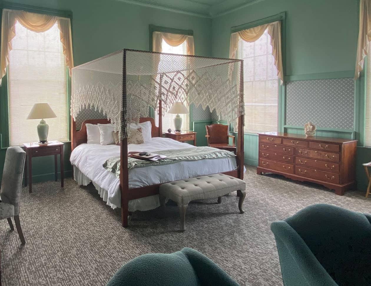 The La Normandie Room at sunset - B&B near Lenox