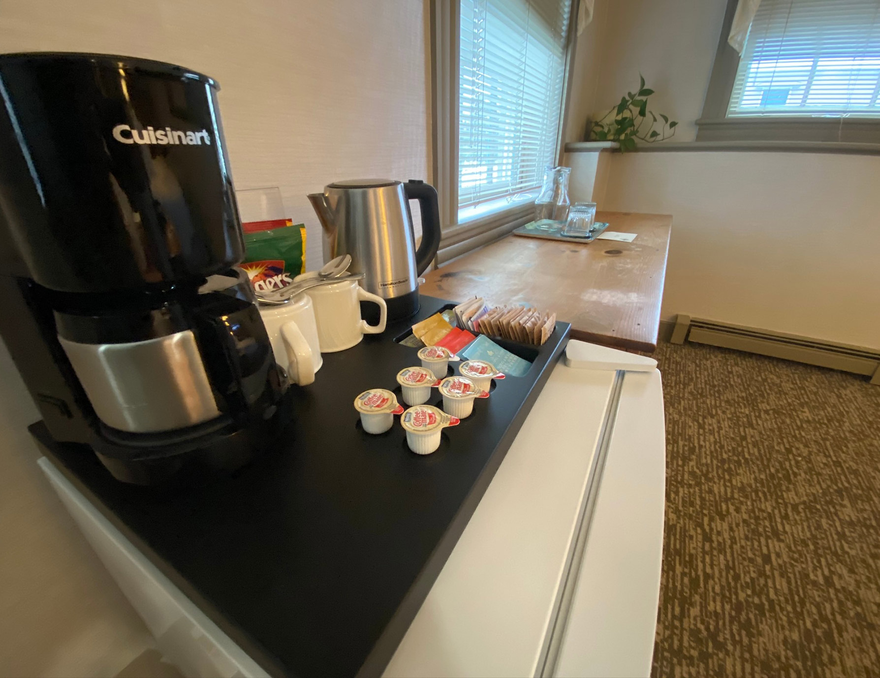 La Chambrette room coffee maker