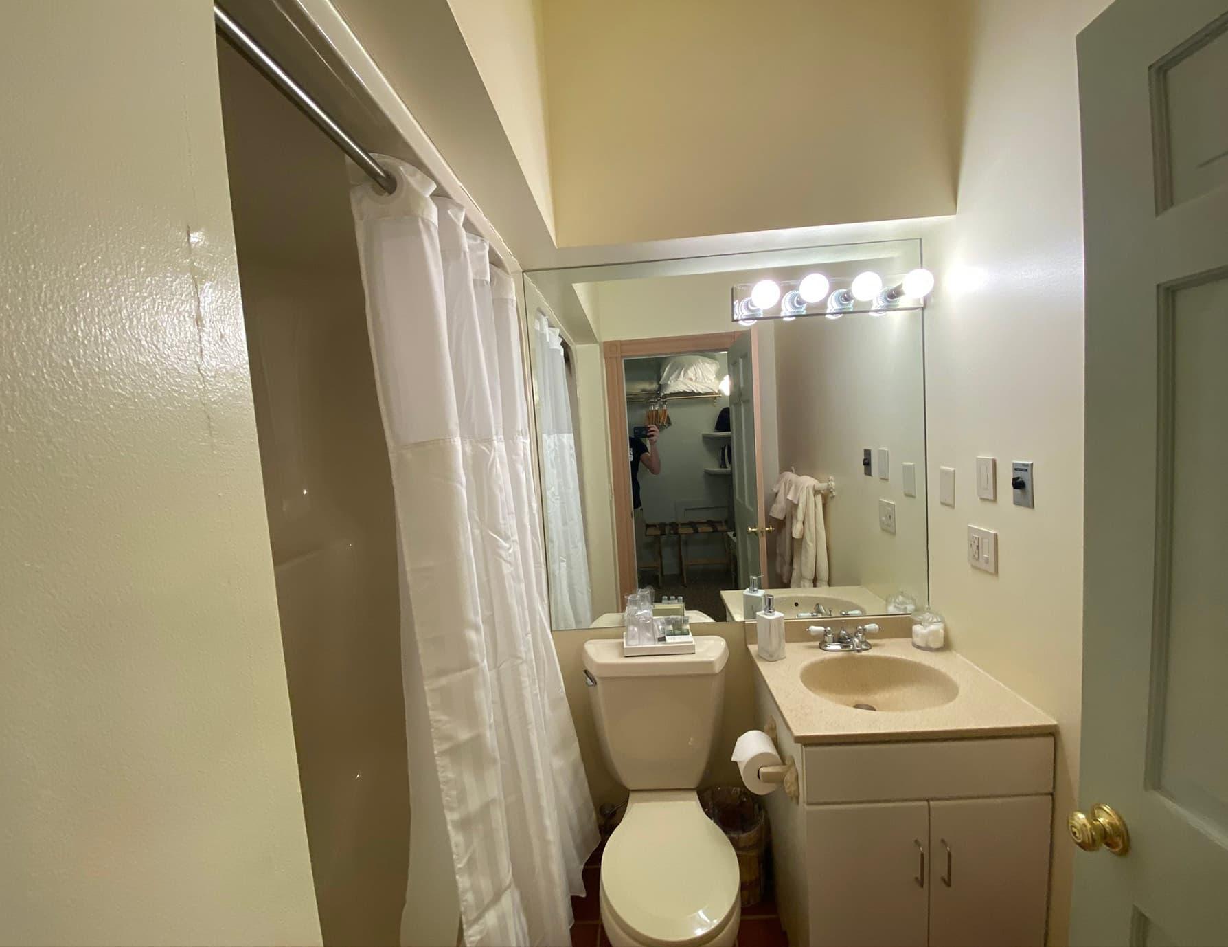 La Savoie Deluxe room bathroom - Lee, Massachusetts Hotel Suite