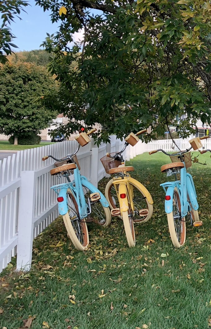 cruiser bikes in the Berkshires