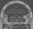 TripAdvisor Hall of Fame 2019